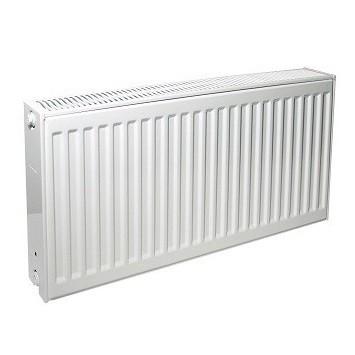 Радиатор панельный профильный PURMO Compact тип 33 - 450x600 мм (подкл. боковое правое, белый)