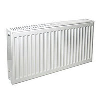 Радиатор панельный профильный PURMO Compact тип 33 - 450x400 мм (подкл. боковое правое, белый)