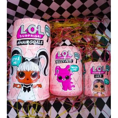 Набор L.O.L. Surprise Hairgoals + Fuzzy Pets + Lils, 5 серия (Оригинал)