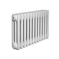 """Радиатор трубчатый Arbonia 3057 - 6 секций (1/2"""", цвет белый, подключение №69, встроенный вентиль)"""