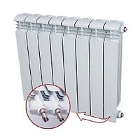 Радиатор алюминиевый секционный Rifar Alum Ventil 500 - 13 секций (подключение нижнее справа)