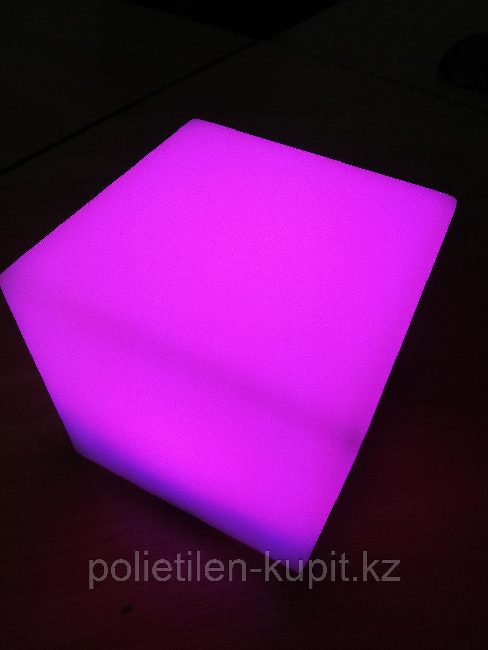 Светильник - ночник светящийся куб LED 10*10*10 см