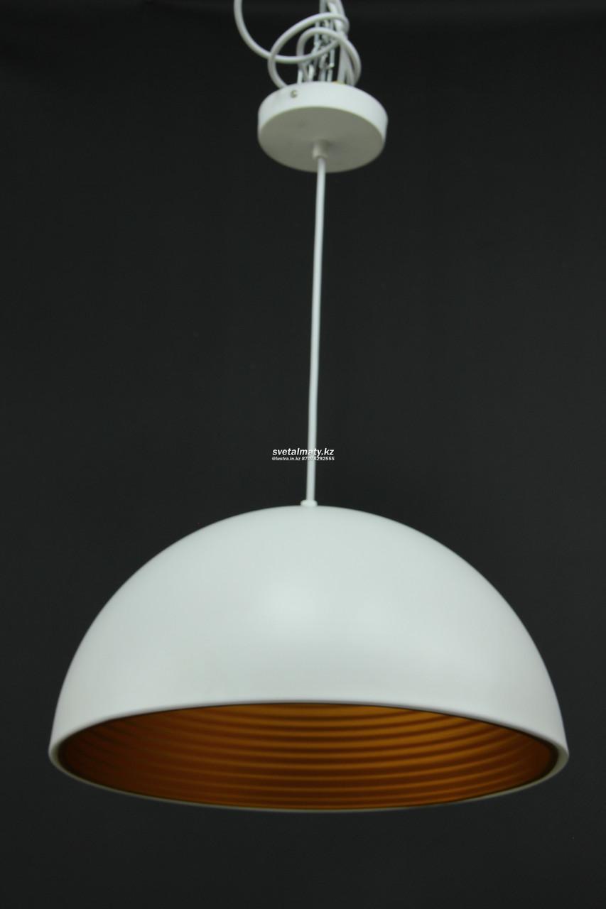 Одноламповый светильник белый в стиле Лофт