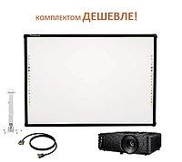 Интерактивный комплект PROboard P82 + Optoma S322e, фото 1