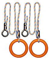 Кольца гимнастические круглые 01 В оранжевый