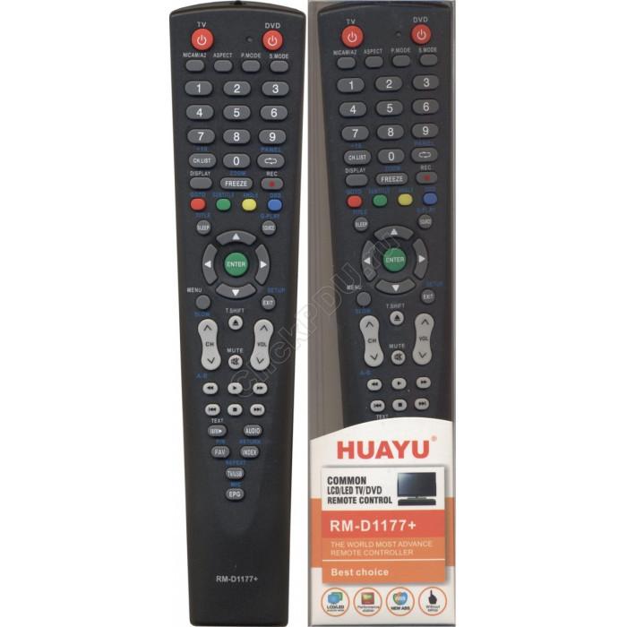 Пульт  для  универсальный для LCD/TV/DVD BBK  RM-D1177+