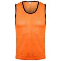 Манишка футбольная размер S, цвет оранжевый