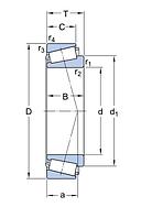 HM 88649/2/610/QCL7C подшипник   SKF
