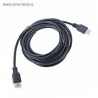 Кабель HDMI - HDMI, v 1.4, 5 м, чёрный
