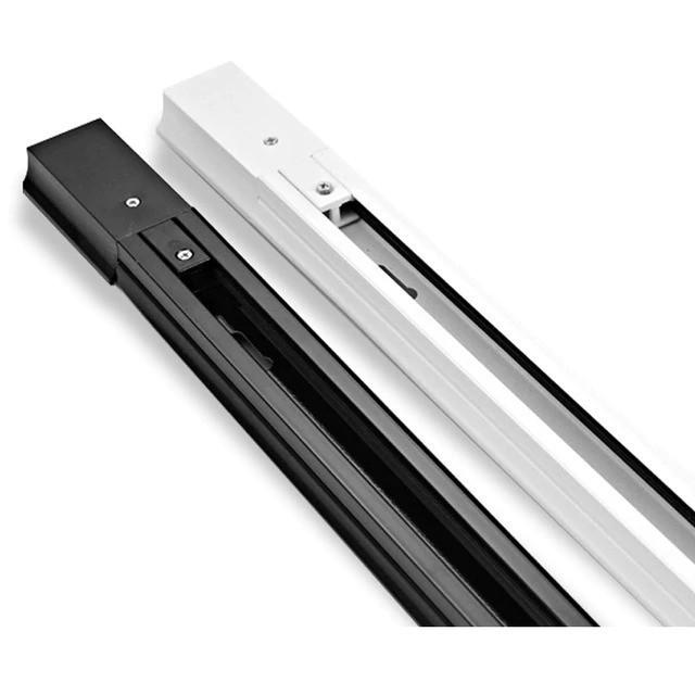 Шинопровод для трековых светильников 2м (черный и белый)