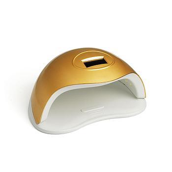 "UV LED-лампа TNL 72 W - ""SUN"" золотая"