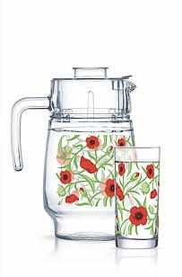 Набор для напитков Luminarc Fesh Blooms (7пр.)
