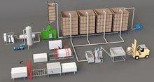 Комплект оборудования для производства пенопласта. Линия полуавтомат. Производительностью 80 куб/смена
