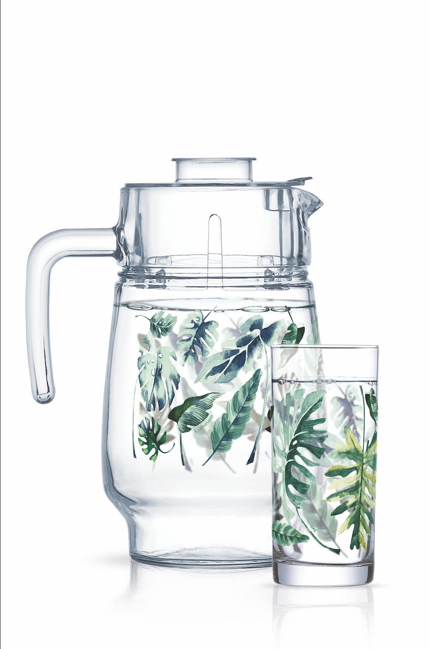 Набор для напитков Luminarc Tropical Foliage (7пр.)
