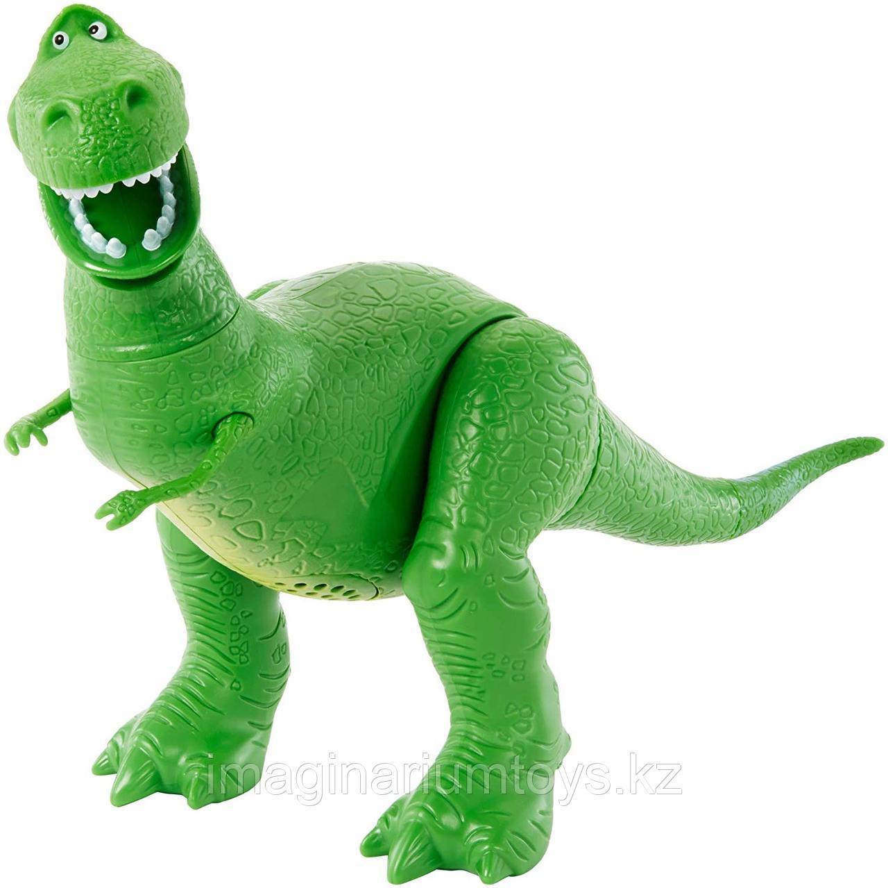 Динозавр Рекс говорящий из м/ф «История игрушек»