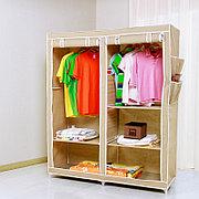 Тканевый гардеробный шкаф 135x50x165 см YOULITE YLT-0704