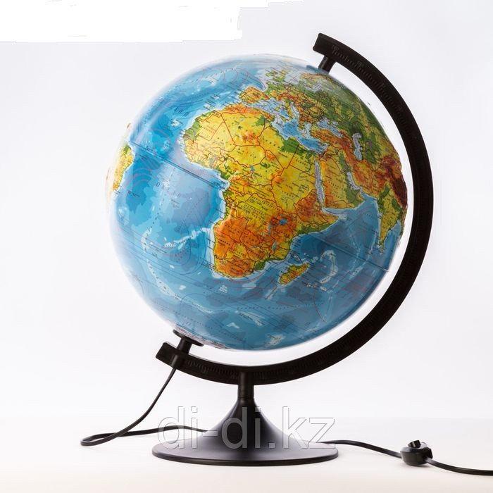 GLOBEN Глобус физико-политический рельефный с подсветкой 320мм Классик К013200223
