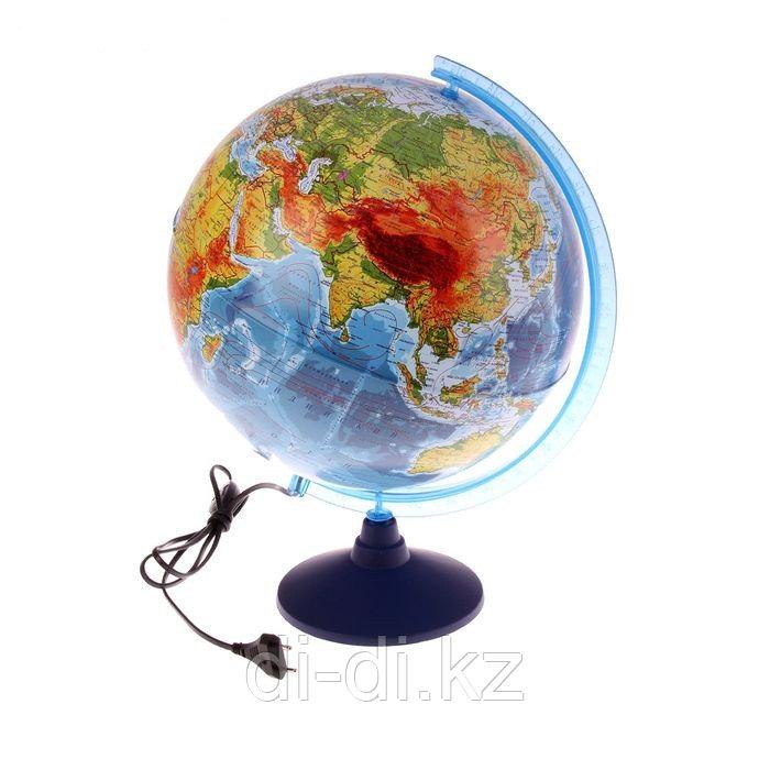 GLOBEN Глoбус физический рельефный «Классик», диаметр 320 мм, с подсветкой KO13200221