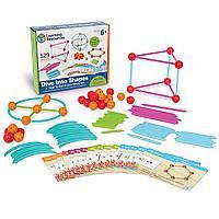 Развивающий набор «Погружение в геометрию» Learning Resources, фото 1