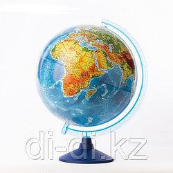 """GLOBEN Глoбус физический """"классик Евро"""" диаметр 320мм,с  подсветкой от батареек Be013200262"""