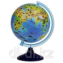 GLOBEN Глoбус зоогеографический детский «Классик Евро», диаметр 250 мм Ke012500269