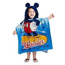 Пляжное полотенце с капюшоном «Микки Маус»