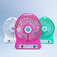 Вентилятор настольный с зарядной батареей, фото 1