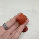 Кулон из необработанной красной яшмы, 30х20мм, фото 2