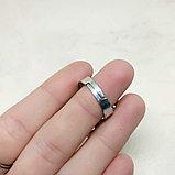 Кольцо с говлитом, 27х10мм, фото 4