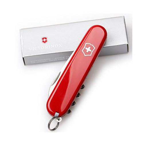 Нож складной армейский Victorinox Waiter, Кол-во функций: 13 в 1, Цвет: Красный, (0.3303)