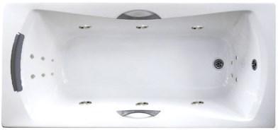 Акриловая ванна с гидромассажем. Джакузи.Агора 170*75 СМ. Оптимал. (Общий массаж +  спина + ноги ), фото 2