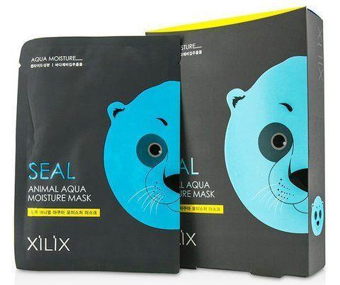 Тканевая маска  увлажняющая Xilix Animal Mask - Seal (Aqua Moisture) - Dermal  25 g