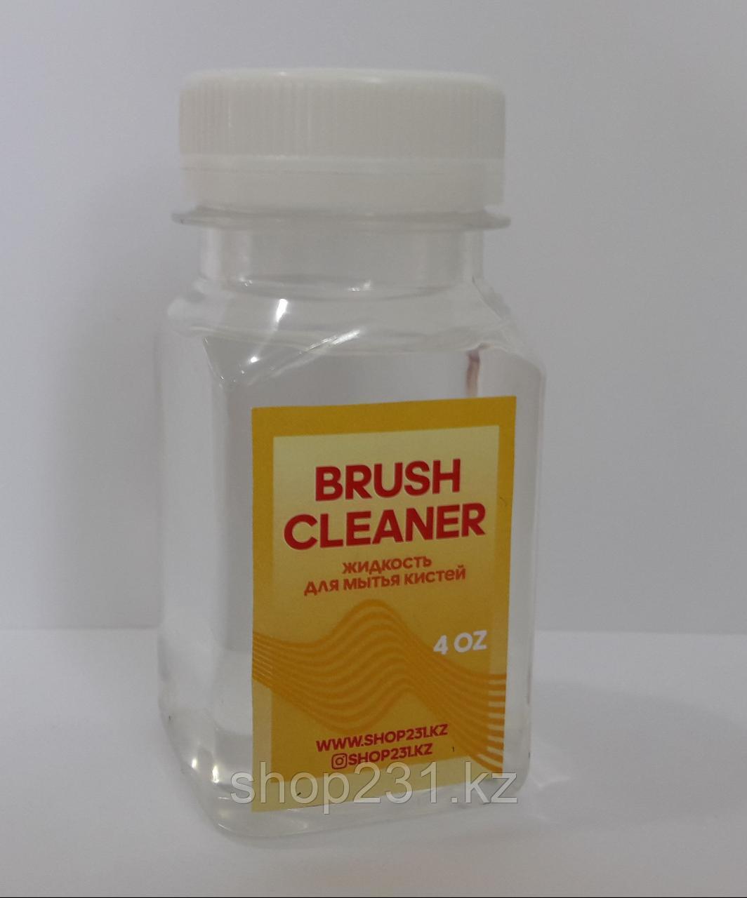 BRUSH CLEANER, жидкость для мытья кистей.