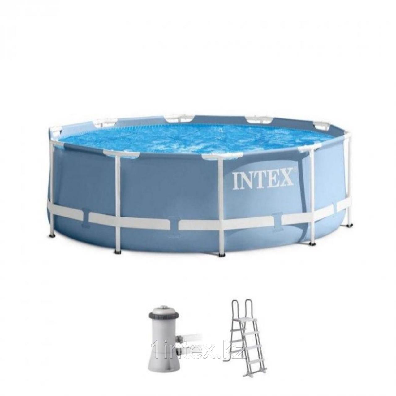 Каркасный бассейн Intex 26706 305 x 99 см (фильтр+насос+лестница)