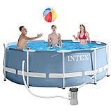 Каркасный бассейн Intex 26706 305 x 99 см (фильтр+насос+лестница), фото 2