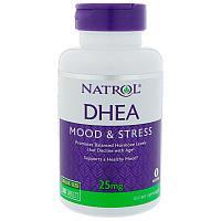 Natrol, ДГЭА, DHEA, 25 мг, 300 таблеток