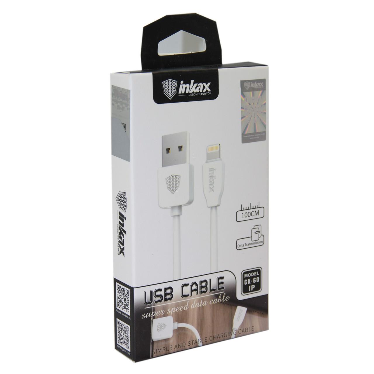 Кабель INKAX CK-60 Lightning iPhone USB