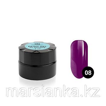 Гель-краска для стемпинга TNL #08 (пурпурная), 6мл