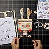 """Деревянный цветочный горшок Robotime """" Pot Bunny Горшок Банни """" , фото 4"""