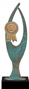 Награда | Статуэтка | Кубок | VERDIGRIS GOLD