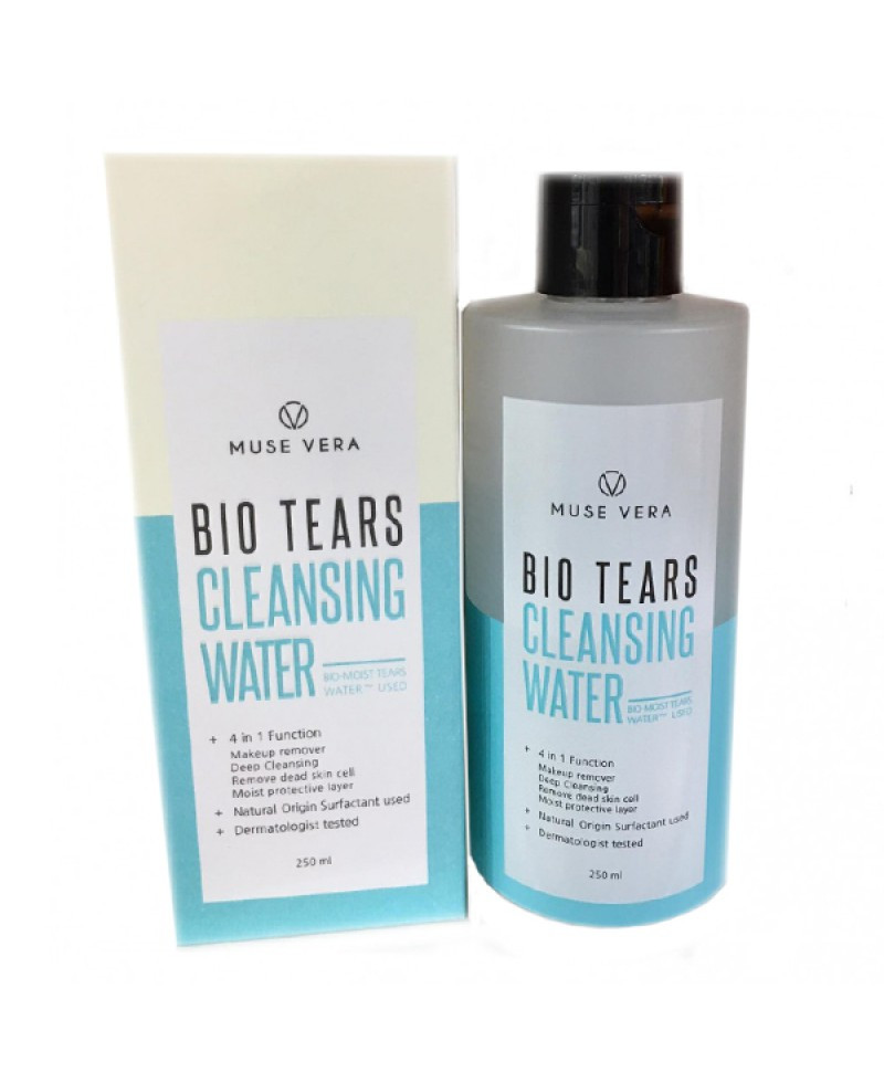Мицеллярная вода Deoproce Muse Vera Bio Tears Cleansing Water 250 ml.