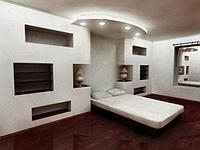 Монтаж гипсокартона на стены, фото 1