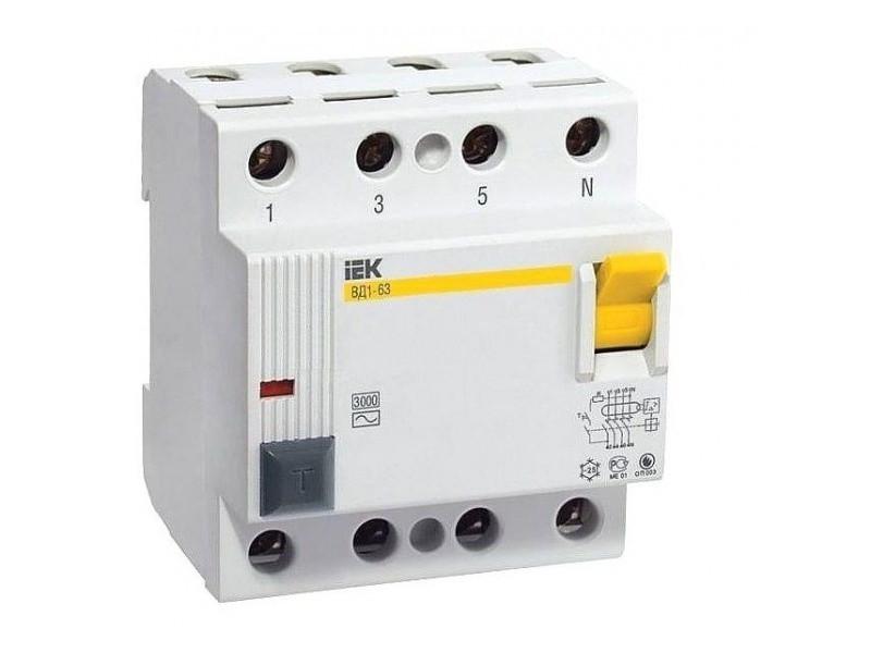 Выключатель дифференциальный ВД1-63 32А