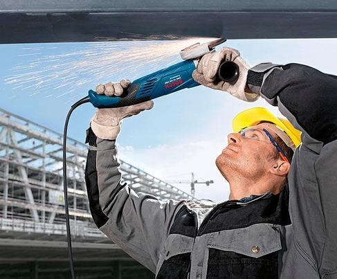 Угловая шлифмашина BOSCH GWS 15-150 CIH Professional 0601830522, фото 2