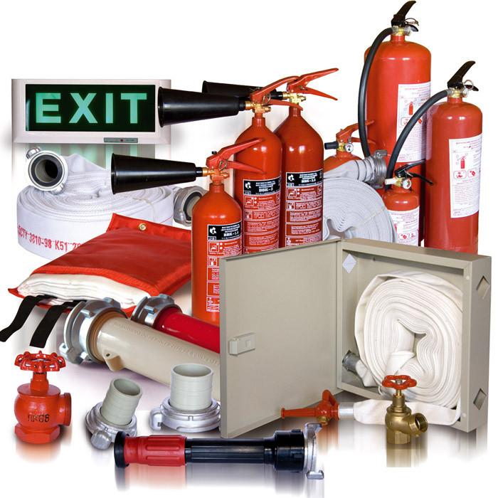Продажа пожарного инвентаря по заявке