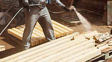 Обработка противопожарным составом деревянных конструкций