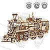 Конструктор Robotime Локомотив Locomotive , фото 9