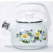 Чайник со свистком 2,5 л