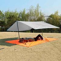 Коврик-тент-навес 3 в 1 для пляжа и пикника Magic Mat (Серый)