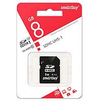 SDHC class 10 UHS-I, 8GB карта памяти Smartbuy